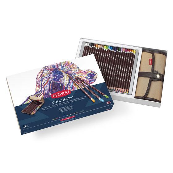 Coloursoft Pencil 24 Wrap Set