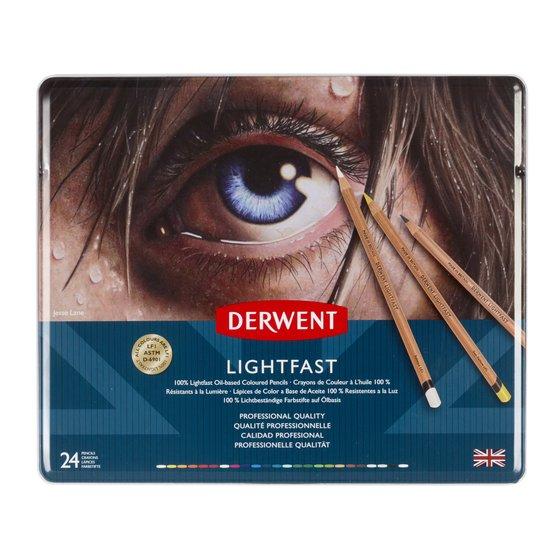 Derwent Lightfast (24) Tin