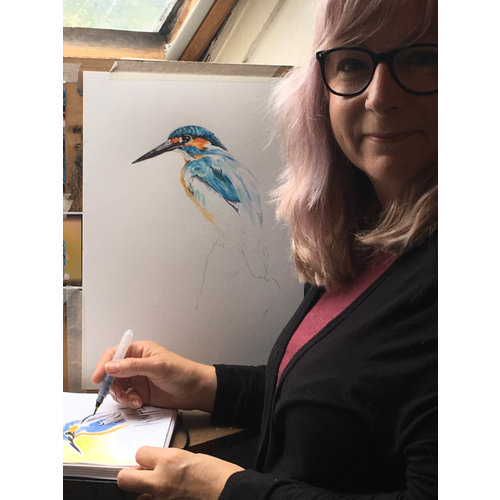 Kingfisher by Beverley Haines
