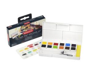 Inktense Paint 12 Pan Palette #1