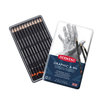 Graphic Hard Pencils 12 Tin
