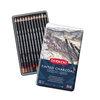 Tinted Charcoal Pencils 12 Tin