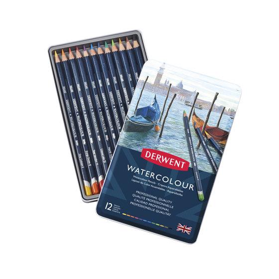 Watercolour Pencils 12 Tin