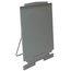 """Quartet® DuraMax® Presentation Easel, 72""""H, Whiteboard/Flipchart Holder, Gray"""