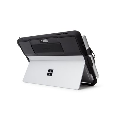 Surface pen holder and tether