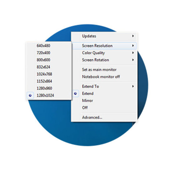 Display Settings Software