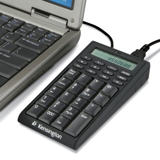 Laptop Keypad/Calculator with USB Hub