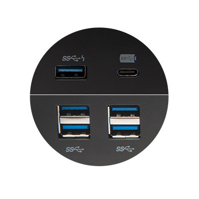 laptop dock 6 usb ports 2.1A