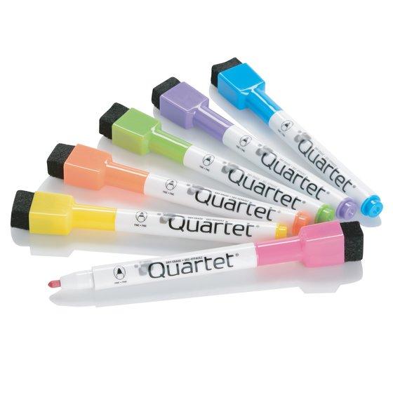 Quartet ReWritables Mini Dry-Erase Markers, Magnetic