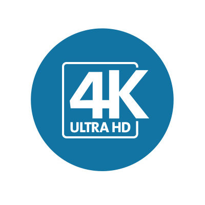 Versatile 4K video connections