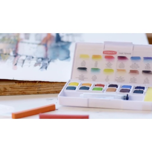2302636 - Inktense Paint Pan Travel Set - HR 2M