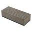 """Foam & Felt Magnetic Board Eraser, 2"""" x 5"""" x 1.25"""", Gray"""