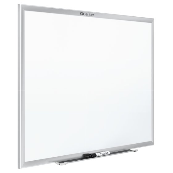 Quartet® Standard DuraMax® Porcelain Magnetic Whiteboards, Silver Aluminum Frame