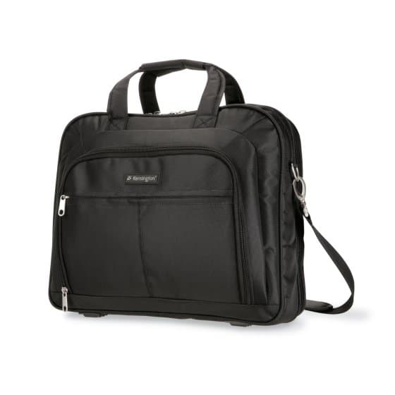 Simply Portable 15.6'' Deluxe Topload Laptop Case- Black