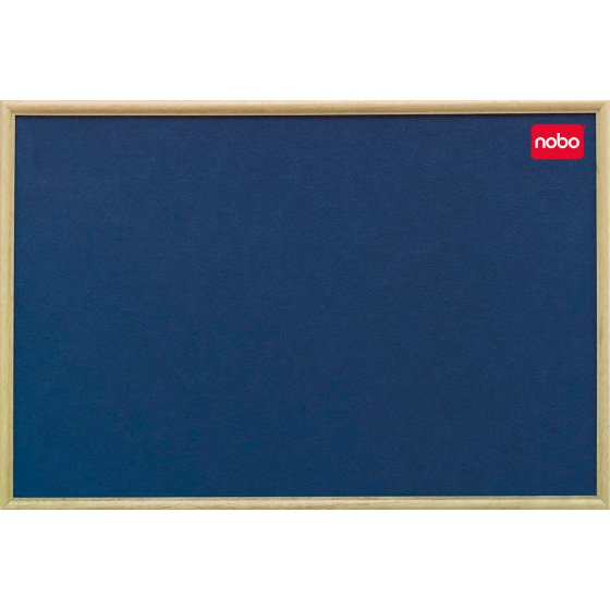Classic Felt Noticeboards - Light Oak Frame