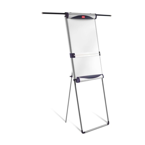 Classic Steel Foot Bar Magnetic Flipchart Easel with Extending Arms
