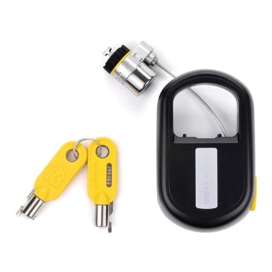 MicroSaver® Retractable Laptop Lock - Keyed Different