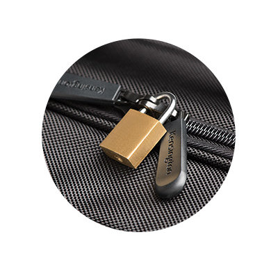 Puncture-Resistant, Lockable Zipper