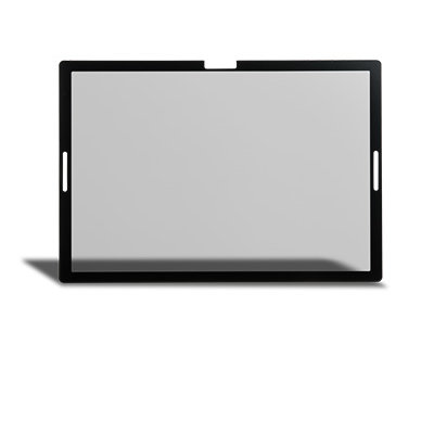 Black Frame with Camera and Speaker Cutouts