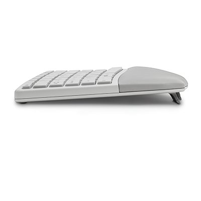 Split and Sloped Keyboard with Adjustable Reverse Tilt