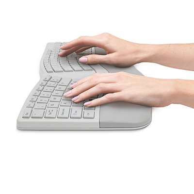 Built-In Wrist Rest