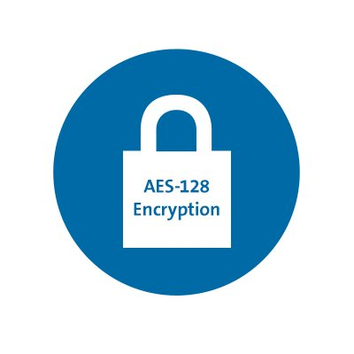Dual Wireless with 128-bit AES Encryption Security