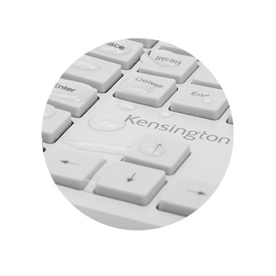 Water-repellent keyboard, spill-proof keys