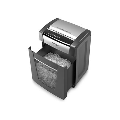open shredder Large 8-Gallon/300-Sheet Bin Capacity