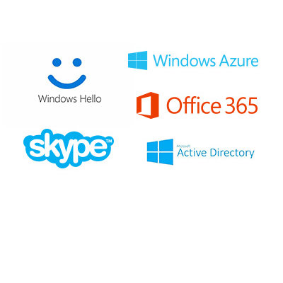 Supports Windows Hello™, and Windows Hello™ for Business, Azure, Active Directory, Office 365, Skype, OneDrive, and Outlook