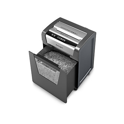 open shredder 6-Gallon/250-Sheet Bin with Window