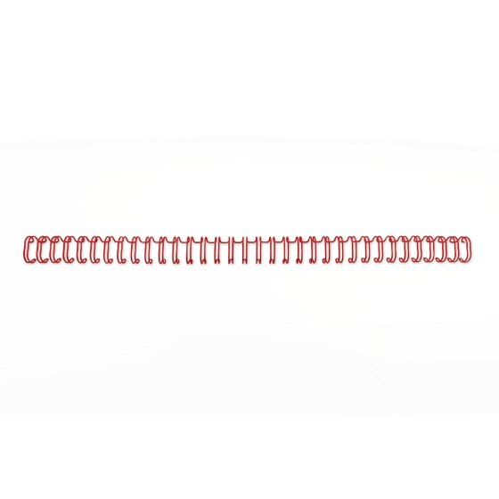 GBC 3:1 WIRE NO9 A4 RED (250)