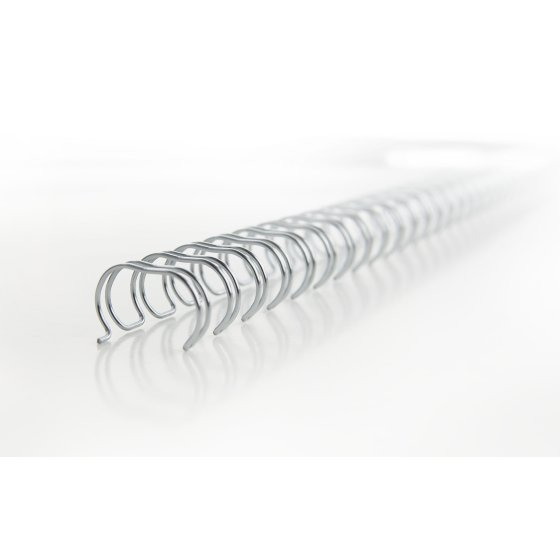 WireBind Wirespiraler nr 6, A5, 10 mm, vit (250)