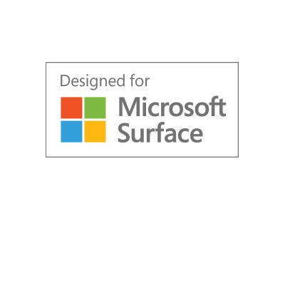 Made for Surface Go in collaboration with Microsoft