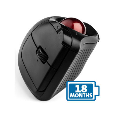 trackball with two AA batteries