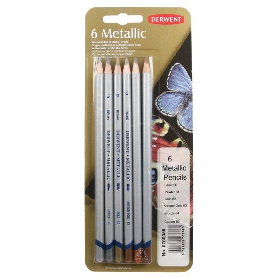 Metallic Traditional Pencil Blister