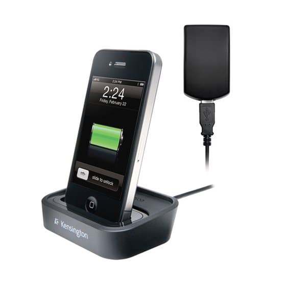 Charge and Sync Dock with Wall Adapter