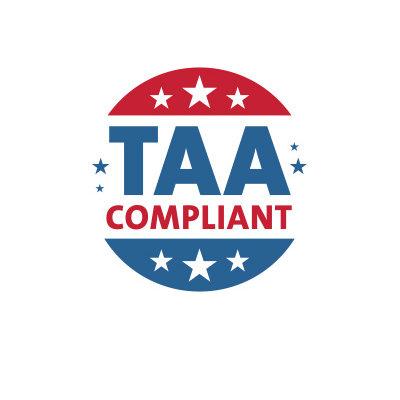 Conforme à la normeTAA et aux normes gouvernementales
