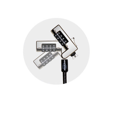 Testa del cavo rotante che consente l'utilizzo con una sola mano