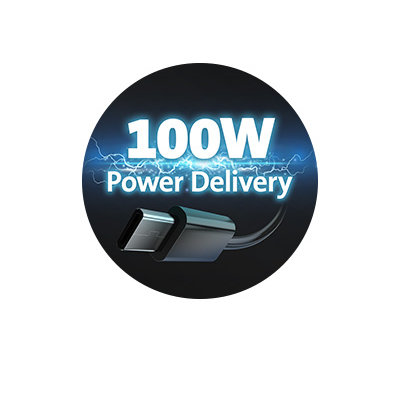 100W Power Delivery