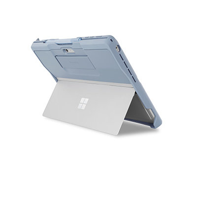 Surface case with kickstand