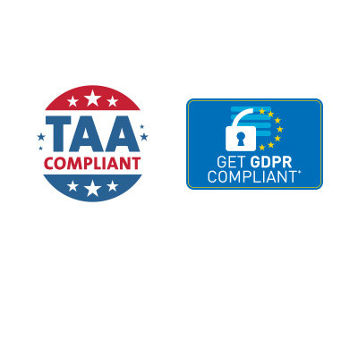 Supports GDPR Compliance and is TAA-Compliant