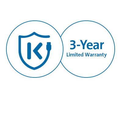 Free Kensington DockWorks™ Software and 3-Year Warranty
