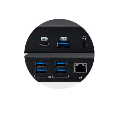13-in-1 design with 6 USB-ports
