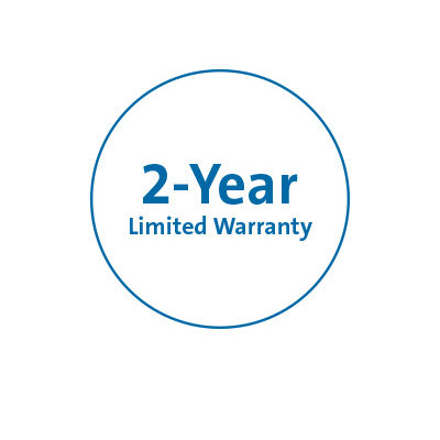 Two-year limited warranty
