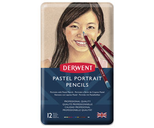 Pastel Portrait Pencil 12 Tin