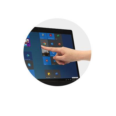 Touchscreen-Funktion & Eingabestift