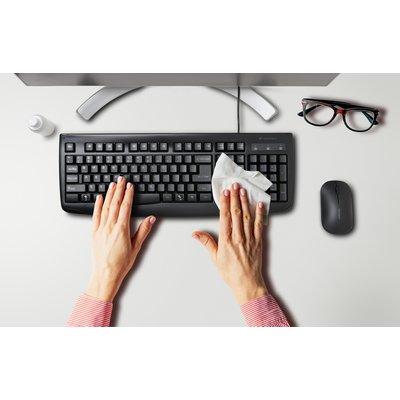 Waterproof Keyboard Design and Wipe Down Protection