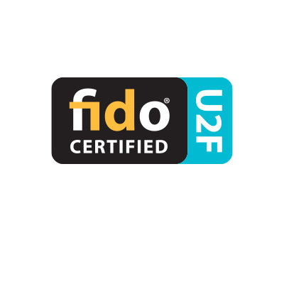 FIDO U2F Certified, FIDO2 WebAuthn Compatible