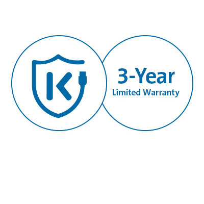 Free Kensington DockWorks™ Software and Three-Year Warranty