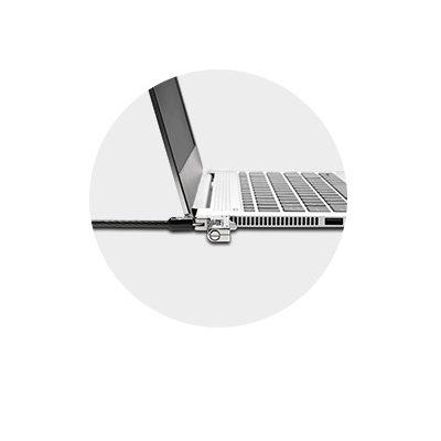 Permet aux ordinateurs portables ultra-minces et 2-en-1 de reposer à plat de manière stable